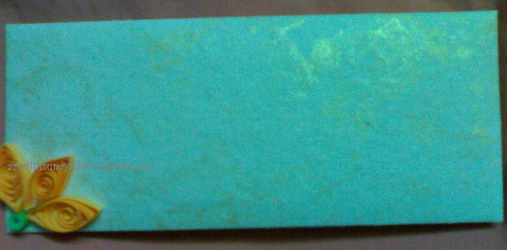 Paper quilled envelopes - 1 (1/3)