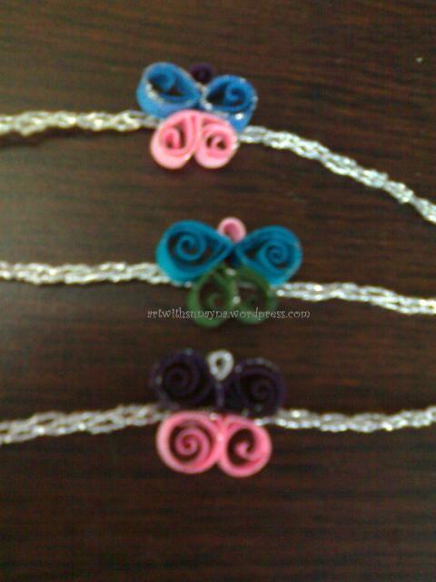 Butterfly raakhi's