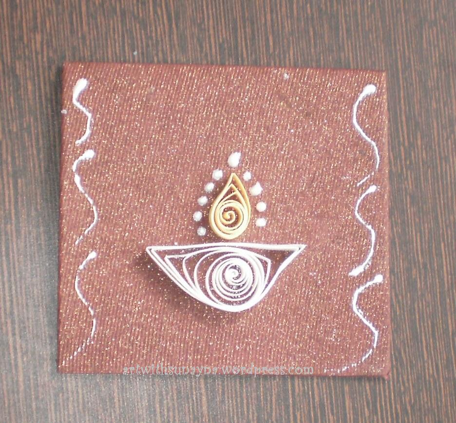 Diwali Greeting Card Making Ideas Part - 46: Art With Sunayna - WordPress.com