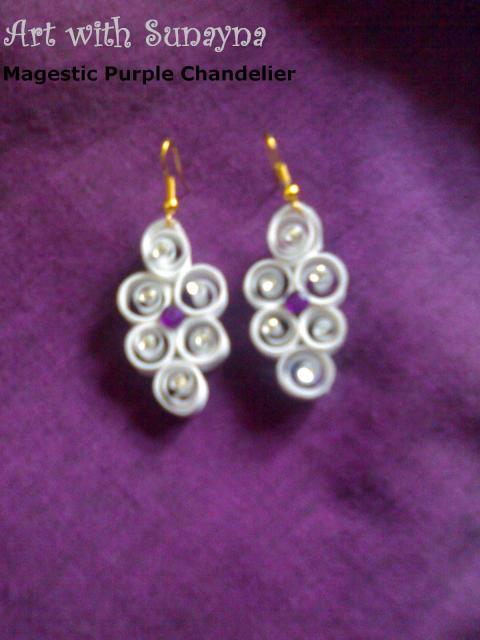 Earrings Art With Sunayna