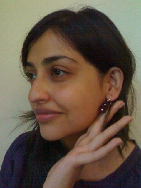 Rekha, the winner, along with Saurabh